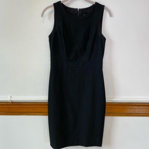 Ann Taylor black sheath dress